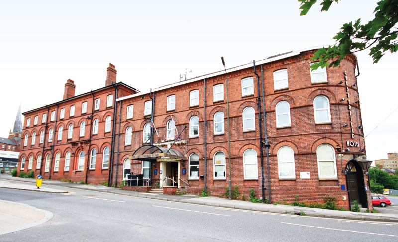The Chesterfield Hotel, Malkin Street, Chesterfield, Derbyshire, S41 7UA