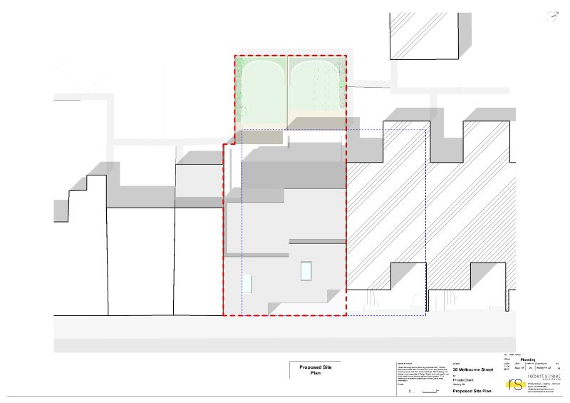 Land North of 32A Melbourne Street, Brighton, East Sussex, BN23LH