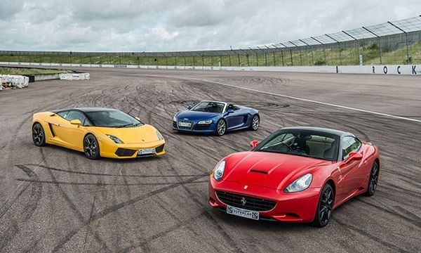 Triple Supercar Driving Blast At Brands Hatch, Charity Lot In Support of 'Be The Change'