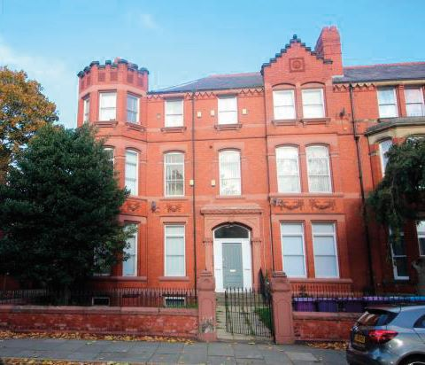 Apartment 1, 31 Princes Avenue, Princes Park, Liverpool, L8 2UP
