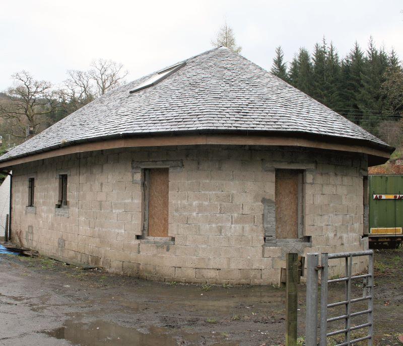 Garage Conversion, East side of M Strathyre, Strathyre, Callander, Perthshire, FK188NB
