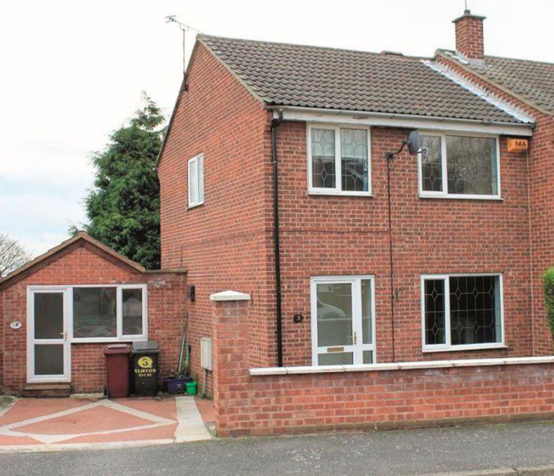 3 Elmton Close, Creswell, Worksop, Nottinghamshire, S804EJ