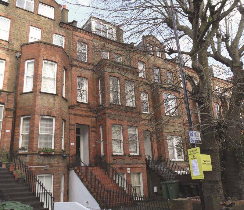 Flat 2, 146 Fellows Road, London, NW33JH