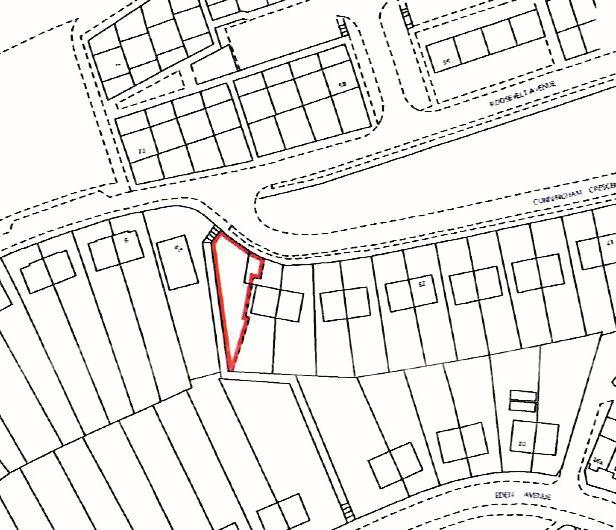 Land adjoining 28 Cunningham Crescent, Chatham, Kent, ME50ES