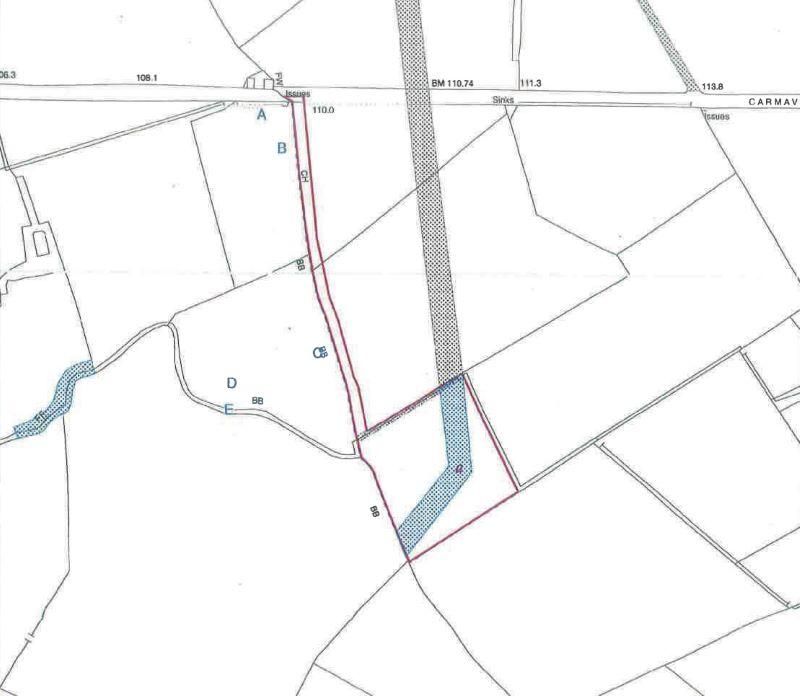 Site at 25B, Carmavy Road, Nutts Corner, Crumlin, County Antrim, BT294TG