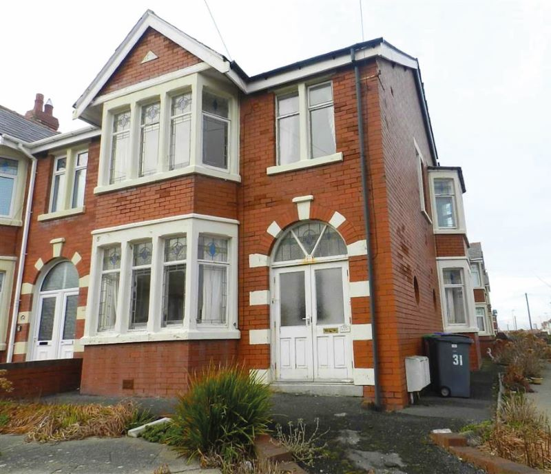 First Floor Flat, 31 Pembroke Avenue, Blackpool, FY2 9PX