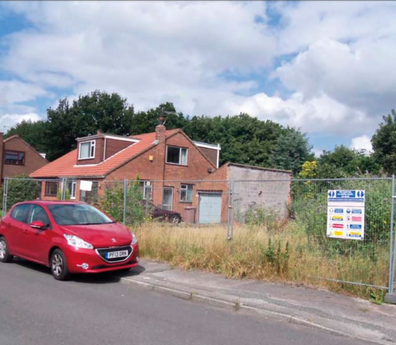 Land at 10 Gordon Avenue, Ashton-in-Makerfield, Wigan, WN40QA