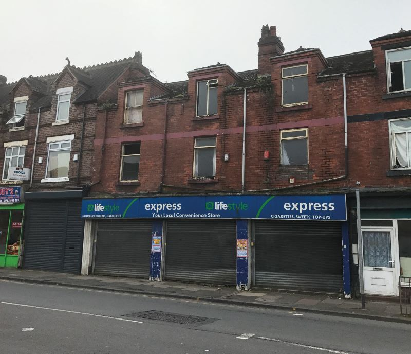 161, 163 & 165 Newcastle Street, Burslem, Stoke-on-Trent, ST6 3QJ