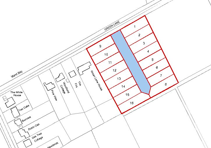 Plot 6, Land Lying to the East of Green Lane, Ockham, Woking, Surrey