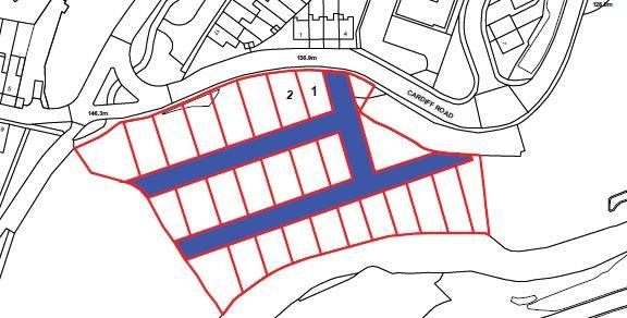 Plots 1 & 2, Cardiff Road, Treharris, Mid Glamorgan