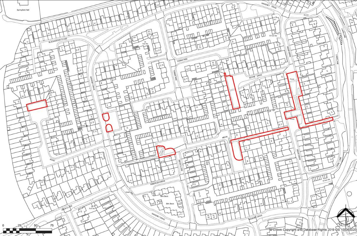Plots 1, 2, 3, 4, 5, 6 & 7 Land on the West Side at Lawn Lane, Chelmsford, Essex