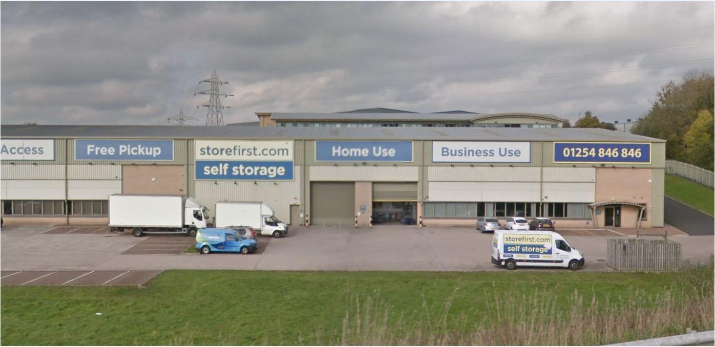 Storage Pods SA43,SA44,SA45,SA46 Store First Freehold Ltd, Unit 6, Centurion Park, Davyfield Road, Blackburn, Lancashire