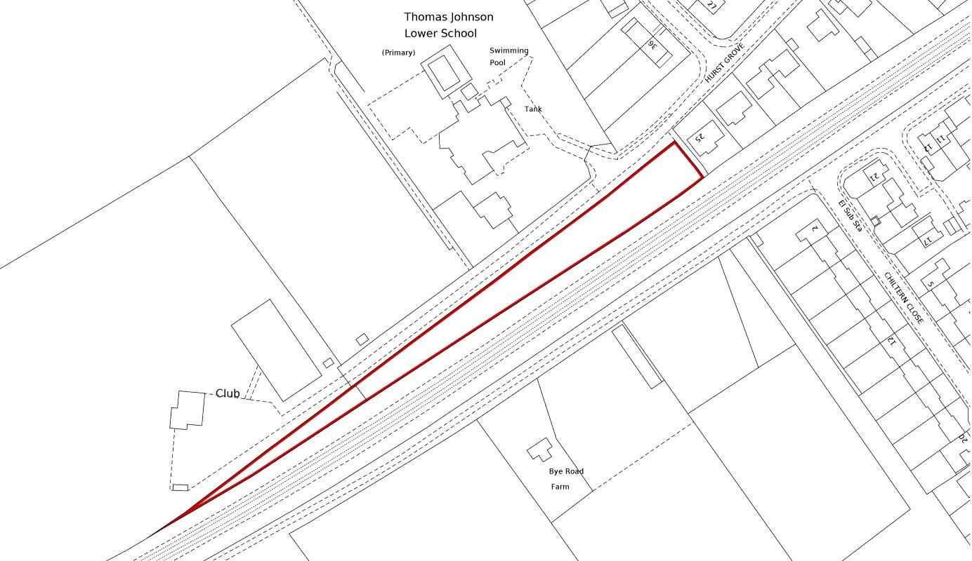 Land Adjacent to 25, Hurst Grove, Lidlington, Bedfordshire