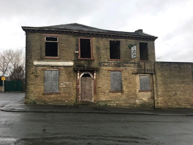 Former Mowbray Arms, 5 Lily Street, Bradford, West Yorkshire