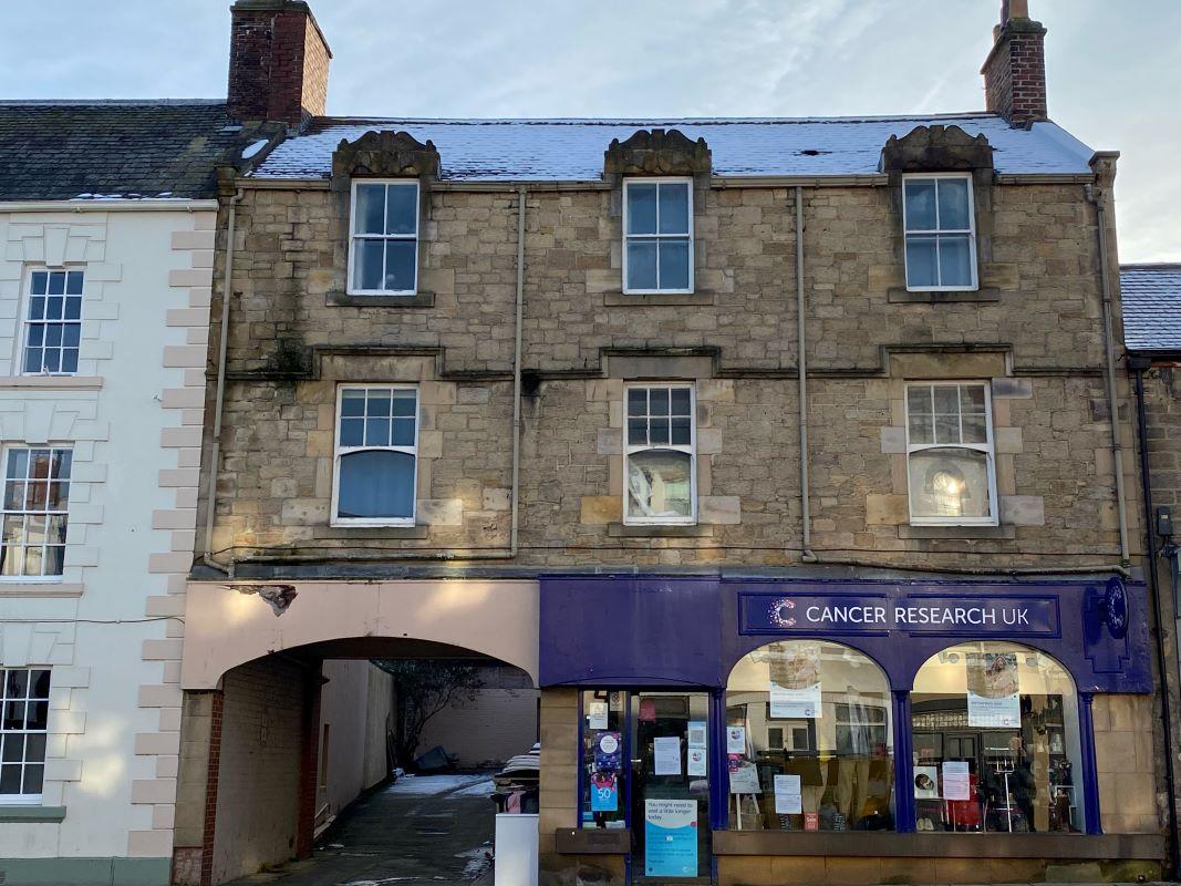 Flats 1-4 and Shop 17 Priestpopple, Hexham, Northumberland
