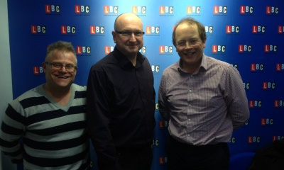 David Sandeman - Live on air at LBC radio for the property hour!