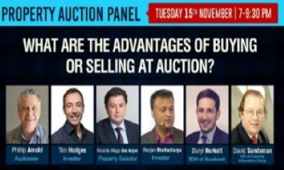 David Sandeman invited to sit on the Wandsworth Property Auction Panel