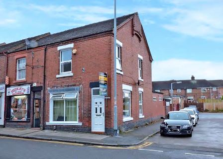 Property for auction in Staffordshire)